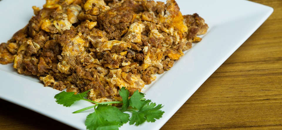 Chorizo and Scrambled Eggs | Rey Sol Mexican Foods