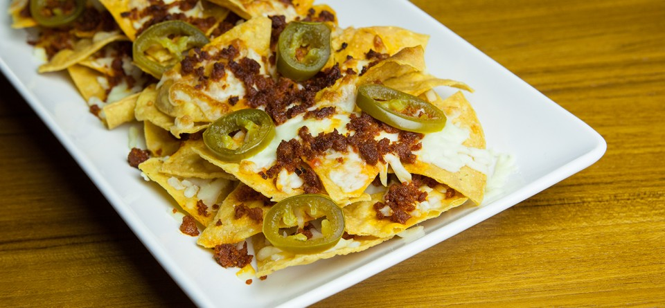Nachos with Chorizo