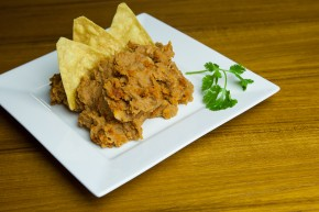 Refried Beans with Chorizo