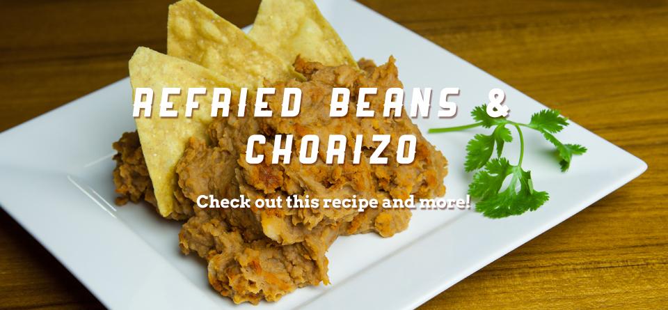 beans-chorizo